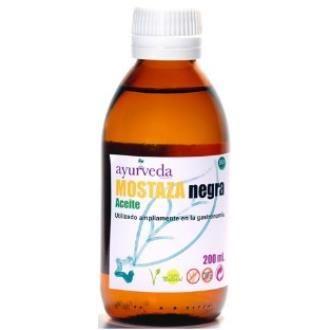 Aceite de mostaza negra ayurveda