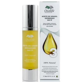 aceite girasol ozonizado