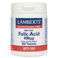 acido folico 400mcg lamberts