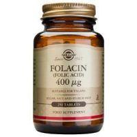 acido folico 400mcg solgar