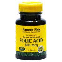 acido folico 800mcg