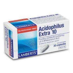 acidophilus extra 10 lamberts 30cap