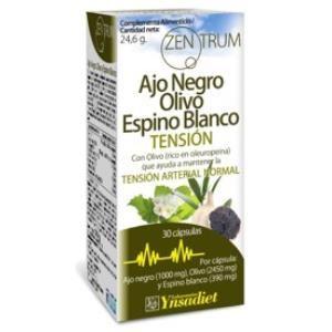 ajo negro olivo espino