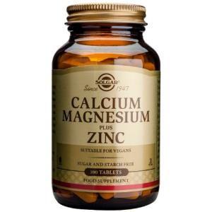 calcio magnesio plus zinc solgar