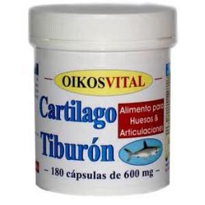 cartilago de tiburon oikosvital 180cap