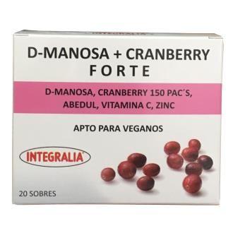 D-Manosa con Cranberry Plus Integralia
