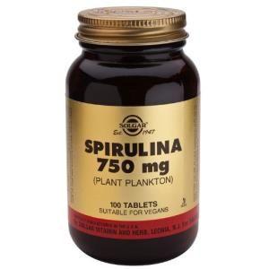 espirulina 750mg