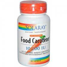 food carotene