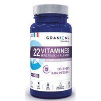 Granions 22 Vitaminas Minerales y Plantas