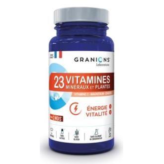 Granions 23 Vitaminas Minerales y Plantas