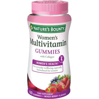 gummies multivitaminico mujer