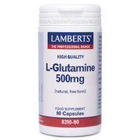 l-glutamina 500mg