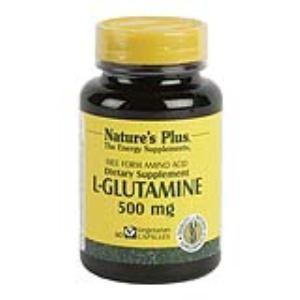 l-glutamina 500mg natures