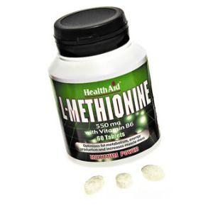 l-metionina health