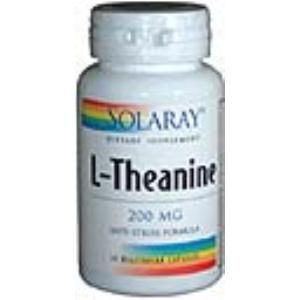 l-teanina 200mg solaray