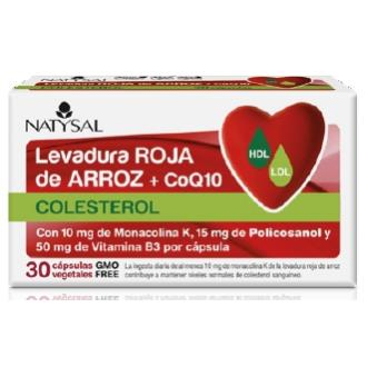Levadura Roja de Arroz con Coenzima Q10 Natysal