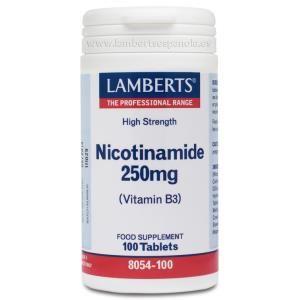 nicotinamida 250mg lamberts