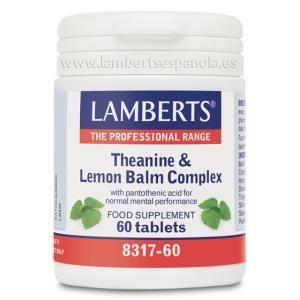 teanina y balsamo limon