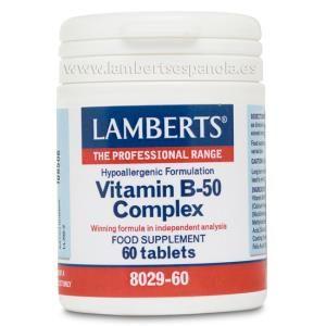 vitamina b-50 complex lamberts