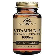 vitamina b12 1000mcg solgar