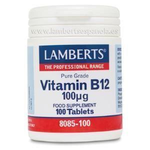 vitamina B12 100mcg lamberts
