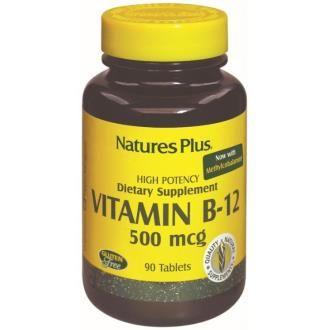 vitamina b12 500mcg natures
