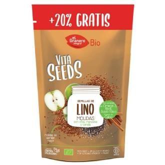 Vitaseeds Semillas de Lino Chia y Manzana