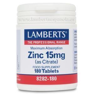 zinc 15mg lamberts